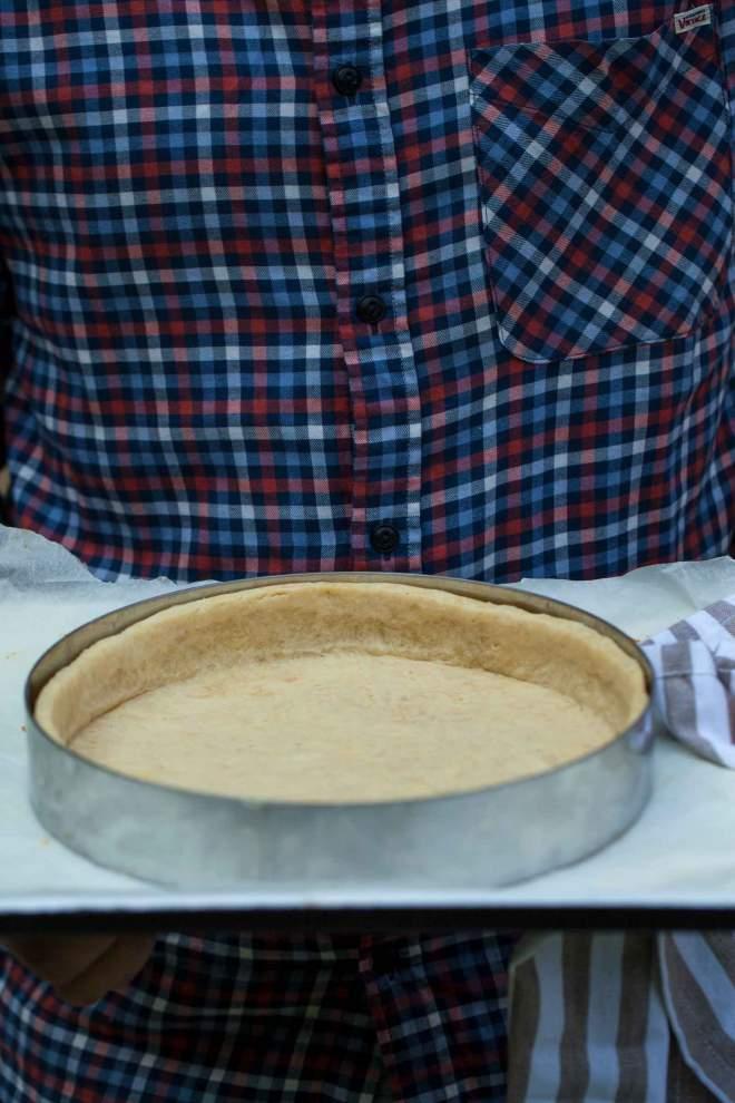 Baked Savoury tart dough